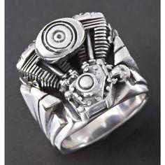 Motorcycle engine ring