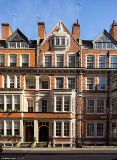 Mayfair homes in London
