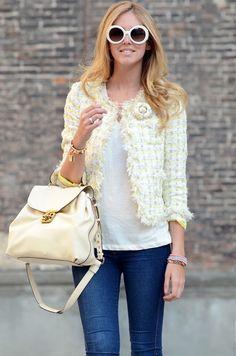 <3 The Blonde Salad + Chloé handbag