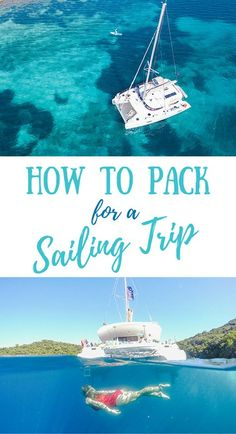 Wondering what to bring on a sailing trip? Our sailing trip packing list has you covered — with all of the essentials you will need! #sailingtrip #packinglist #travelpacking
