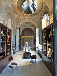 Palais Garnier gift shop by Bruno Moinard. Photo by Eric Laignel.