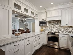 Kitchen Pass Through . Kitchen Pass Through . Pass Through Kitchen, Kitchen Pass, Narrow Kitchen, New Kitchen Cabinets, Kitchen And Bath, Kitchen Dining, Kitchen Decor, Upper Cabinets, Dining Room