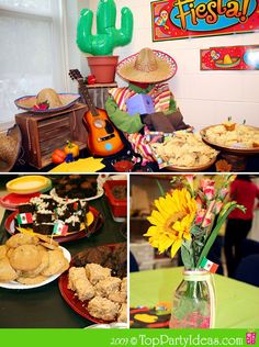 Mexico: Mexican Birthday Party, Cinco de Mayo Party or Mexican Theme Party Mexican Birthday Parties, Mexican Fiesta Party, Fiesta Theme Party, Mexican Holiday, Taco Party, Festa Party, Birthday Party Themes, Salsa Party, 60th Birthday
