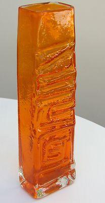 Whitefriars Totem Vase
