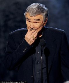 Burt Reynolds. The actor's cosmetic alterations are often on a list of the top ten plastic surgery disasters cited by doctors.