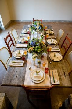 Rustic Brunch Wedding Tabletop