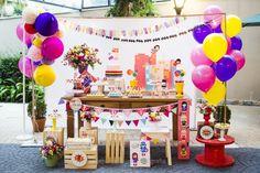 Festa infantil com tema Super Heróina por Madrica Festas - Blog Kikids Party