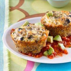 Southwest Quinoa Cakes - EatingWell.com