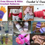 10 Free Gloves and Mitts Crochet Patterns