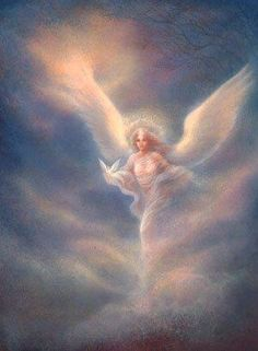•♥Angel~ Beautiful Heavenly Angel, Almost Ethereal, Exactly The Way She  Is Meant To Be, For To Feel Her Presence  We Don't Need Eyes To See!  ~ C.C.Crystal ♥•✿ڿڰۣ