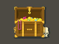 Treasure Chest by Anton Frizler (Kit8)