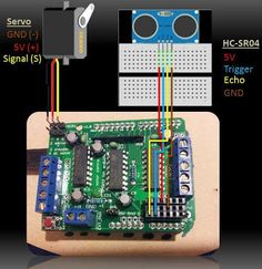 This project utilises the HC-SR04 ultrasonic sensor to scan for nearby objects. You can program the Arduino to sound an alarm when the sensor detects an object...
