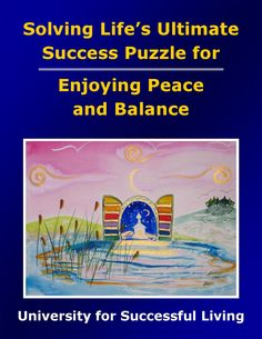 """Enjoying Peace and Balance will guide you in taking practical steps toward creating a wonderful balance in your life, even in the midst of challenging circumstances. You will find that it really is possible to nurture the spirit of peace and keep your life in balance. This interactive """"how to guidebook"""" includes insightful self-discovery exercises that will help you create a beautiful, stress-free environment and enjoy a life filled with peace and balance. Areas Of Life, Achieve Success, Self Discovery, Relationships Love, Guide Book, Stress Free, Destiny, Meant To Be, Exercises"""