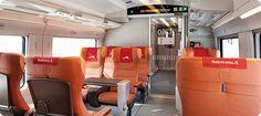 Ferrari Train Italo Interior view