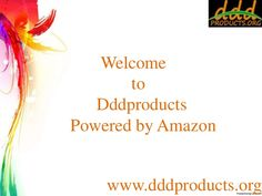 Dddproducts is online shop for all daily needed stuff. If you want to know more about Best top Amazon sellers products, Dddproducts are welcomes you, we provide full list of best & top amazon sellers. www.dddproducts.org