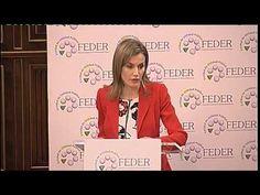 """La Reina Letizia: """"Niños como Andrés, dan sentido a mi trabajo"""" - YouTube Mar 5, 2015"""
