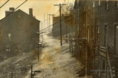 Rainy Day: Schuylkill County, Pennsylvania 1938-1939 | Documentarist | Historic Photo Archive