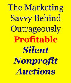 Want a Profitable Silent Auction Fundraiser? -> Then learn the marketing savvy behind outrageously profitable Silent Auctions. Nonprofit Fundraising, Fundraising Events, Fundraising Ideas, Church Fundraisers, Donation Request, Grant Writing, Auction Baskets, Event Themes, Silent Auction