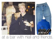 """at a bar with niall and friends."" by girlalmightysyd ❤ liked on Polyvore featuring Levi's, Vika Gazinskaya, Kate Spade, Linda Farrow and Salvatore Ferragamo"