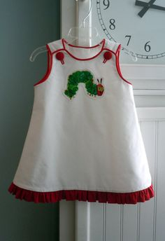 The Very Hungry Caterpillar  Mindy Dress  Simple by RennyClothing, $45.00