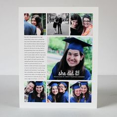 Hybrid Layout: She Did It (plus some thoughts on graduation)