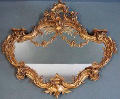 Found on EstateSales.NET: French Art Nouveau Mirror