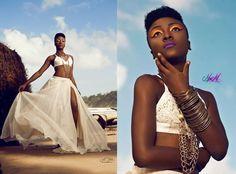 Shaun Griffith Perez Designs  Photographer : John Tilokee Designer : Shaun Griffith Perez M.U.A: Artistry by maryam Model : Crystal Coomansingh