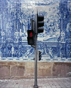 Azulejos in Lisbon, Portugal