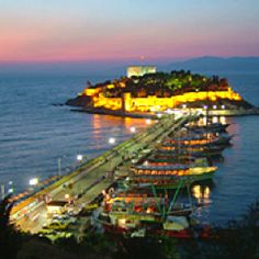 Kusadasi , Turkey.  It's one of my favorite places in the world