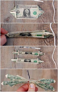 learn how to make a butterfly money lei | NoBiggie.net