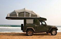 Flip-open tent