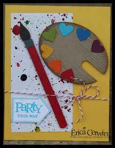 """another variation! I think I might have to throw Holden a """"paint"""" themed party just so I have an excuse to make these!"""