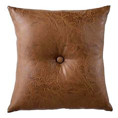 Bring an instant luxe factor to your living room, bedroom, or home office with the timeless design of the Leatherette Cushion from Urban Road.