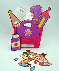 Doctor's Kit - Printable Paper Toy Craft PDF by Paperholic