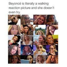 Ik heb deze meme gekozen omdat ik fan ben van Beyonce en de gezichten die ze trekt vergelijkbaar zijn met mijn gezichten.