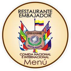 restaurant menu embajador colombia design graphic color el carmen de bolivar