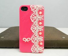 Lace iphone 5 case iPhone 4s case iPhone cover 14 by dnnayding, $18.99