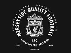 LFC - Merseyside designed by Nader Boraie. Liverpool Football Club, Liverpool Fc, Beatles, Liverpool Tattoo, You'll Never Walk Alone, Casual Art, Liverpool England, Best Club, Juventus Logo