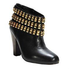 Betsey Johnson Concertt Studded Bootie | from Von Maur #VonMaur #Boots