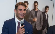 Rafael Nadal at the Tommy Hilfiger event in Madrid. Vamos Rafa Tennis Style Mode Tommy X Nadal
