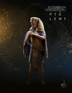 Assassin's Creed: Origins ~ Ptolemy Assassins Creed Empire, Assassins Creed Series, Assassins Creed Origins, Connor Kenway, Egypt Art, Egyptian Mythology, Ancient Egypt, Ancient History, Amon