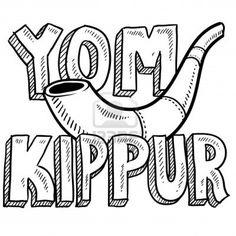 coloring pages yom kippur