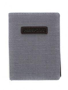 Grey Passport Holder by Swing Design - ShopKitson.com