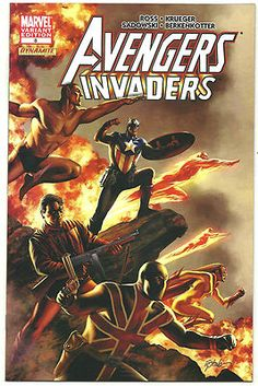 AVENGERS/INVADERS #8 Beautiful1/10 VARIANT by Steve Epting! ~NEW~ http://r.ebay.com/TaZLPb