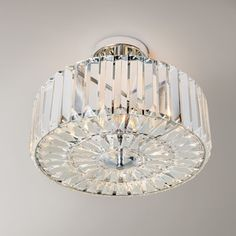 Fernhurst Large Crystal Pendant Light