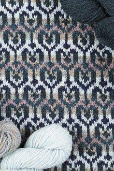 Loch Lomond cardigan design patterncard kit by Jade Starmore in Hebridean 2 Ply Fair Isle Knitting Patterns, Knitting Charts, Knitting Stitches, Knit Patterns, Color Patterns, Knitting Ideas, Cardigan Design, Hand Knitting Yarn, Creative Knitting