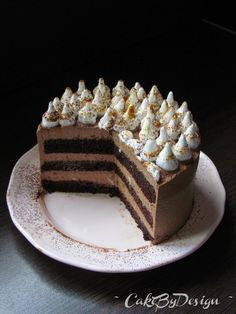 CakeByDesign: Brza banana torta