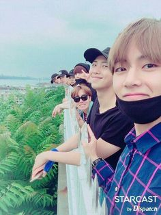 Is this the first selfie Tae has taken without it being blurred