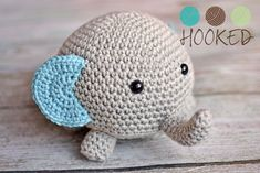Ravelry: Not Your Everyday Elephant pattern by Cassie McSassy Craft