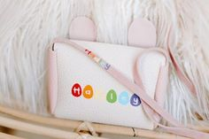 💗【Great Gift】For the bunny lovers in all of us. Cute toddler crossbody purse for little girls in any social events, such as everyday wear, parties, school and more. Perfect pretty accessory to make your beautiful little lady feeling special and extra adorable. Plus there's plenty of room inside for Personalized Gifts For Kids, Customized Gifts, Makes You Beautiful, Cute Toddlers, Feeling Special, Social Events, Cute Bunny, Kid Names, Gifts For Girls
